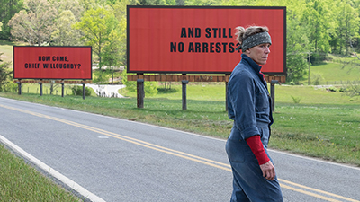 DFF 40 Matinee: Three Billboards Outside Ebbing, Missouri