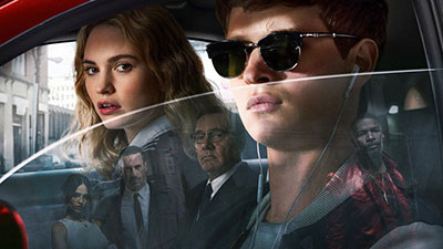 Baby Driver on 35mm Film